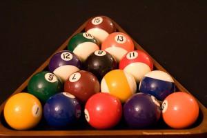 Rack of balls