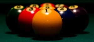Graphic Rack Of Nine-Ball
